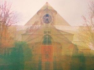 "Invitation, 12""x16"", silkscreen on BFK, 2014, $75"